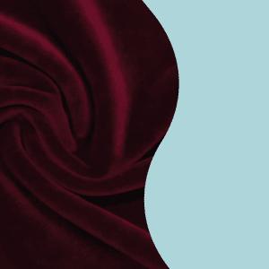Welur bawełniany aksamit