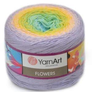 Flowers YarnArt